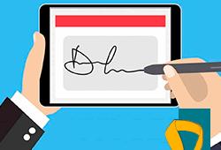 ilustração assinatura